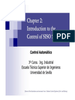 Control of Siso Systems