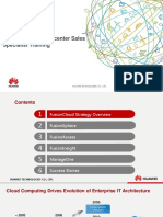 03-HUAWEI Cloud Datacenter Sales Specialist Training V2.0