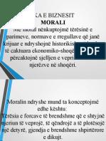 Morali, Etike