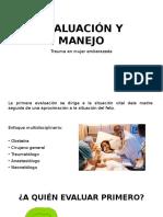 Evaluación y Manejo Trauma en Embarazadas