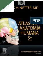 Atlas de la anatomia Humana 5° edicion negro$9000