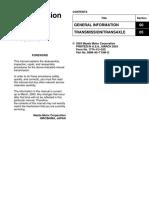 217414330 Mazda RX 8 Manual Transmission Repair Guide