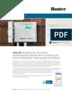 Hunter HC Pro Hydrawise WiFi Irrigation Controller