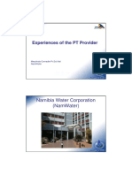 MC_Experiences of the PT Provider