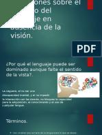 dominio del lenguaje en ausencia de la visión .pptx