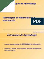 Técnicas de Retenciòn de La Información