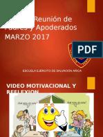 1a Reunion 2017 1ºB