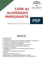 Atención Alumnado Inmigrante-Entrevista