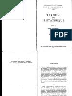 Roger Le Deaut, Targum Du Pentateuque v - Index Analytique