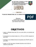 Plan de Marketing - Sanguchería La Herencia