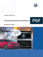SSP 519 - The Infotainment in the Golf in 2013 Part II