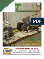 March 2010 CSRA TXT Newsletter