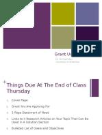 Grants Day 3
