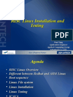 09_RISC Linux Installation