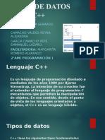 Tipos de Datos Para c