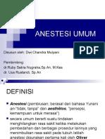 ppt anestesi umum