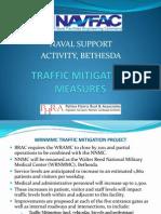 Traffic Mitigation Measures (Naval Support Activity, Bethesda)