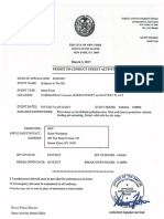 Fearless Girl Permit