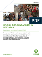 Social Accountability in Pakistan