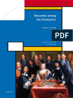 Descartes Among the Scholastics