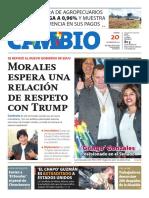 donald trump posecion periodico bolivia