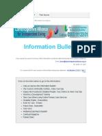 Info Bulletin 23.03.17