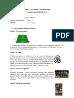 10 Reglas Futbol