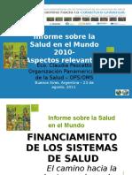 Informe Sobre La Salud Mundial 2010 (OMS-OPS)