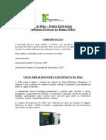 Cartilha Ponto Eletrônico IFBA-Versão Final