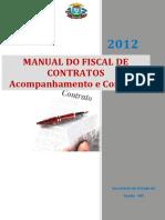 Manual Do Fiscal de Contratos Acompanhamento e Controle 2012