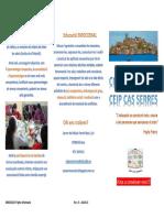 Ceip Cas Serres_Informació del centre.