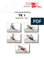 TE1-trainingsanleitung