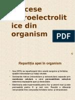 Procese Hidroelectrolitice Din Organism