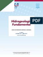 "7º Curso a distancia ""Hidrogeología fundamental"" (2017 – 2018)"