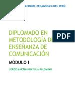 METODOLOGÍA DE LA ENSEÑANZA DE COMUNICACIÓN