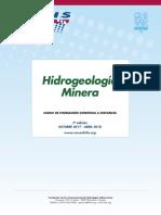 "7º Curso a distancia ""Hidrogeología Minera"" (2017 – 2018)"