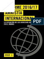 Informe Anual Amnistia Internacional