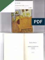 Robert Walser, Absolutamente Nada