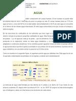 Agua y Electrolitos (Bioquímica)