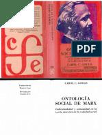C. Gould, Carol. La Ontología Del Trabajo