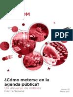 Labcom - Informe Semanal de Agenda Pública - Marzo 17, Semana 3