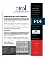 Dymetrol Automotive Seating System White Paper v5