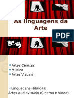 As linguagens da arte