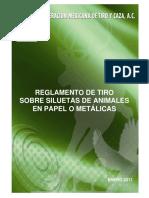 Federación Mexicana de Tiro y Caza - Reglamento tiro siluetas de animales.pdf