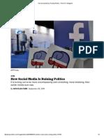 how social media is ruining politics - politico magazine