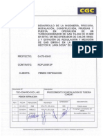 TGC-CON-PRO-CGC-L-002 REV2 Procedimiento de Instalación de Tubería Conduit