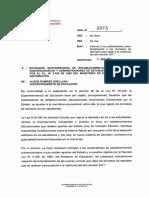 ORD Nº 0973 Informa Procesos Admisión 2016 Matrícula 2017