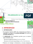 10 - Disp Eletrônico - IfBA - Transistor Polarização