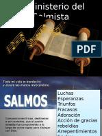 El Ministerio Del Salmista Tema