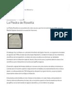 La Piedra de Rosetta – Asusta2